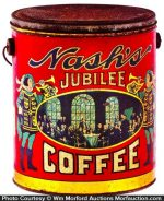Nash's Jubilee Coffee Pail