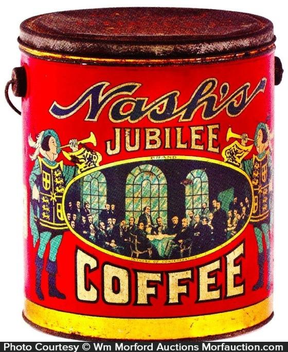 Nash's Jubilee Coffee Pail