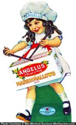 Angelus Marshmallows Sign