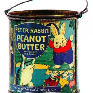 Peter Rabbit Peanut Butter Pail