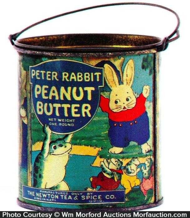 Peter Rabbit Peanut Butter Pail