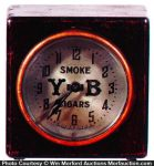 Y-B Cigars Clock