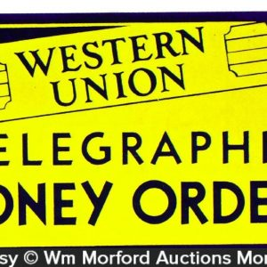 Western Union Money Orders Sign