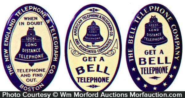 Bell Telephone Pocket Mirrors