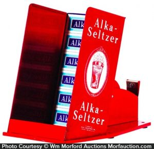 Alka Seltzer Display Tape Dispenser