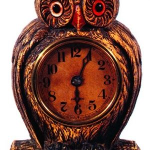 Wise Potato Chips Owl Clock