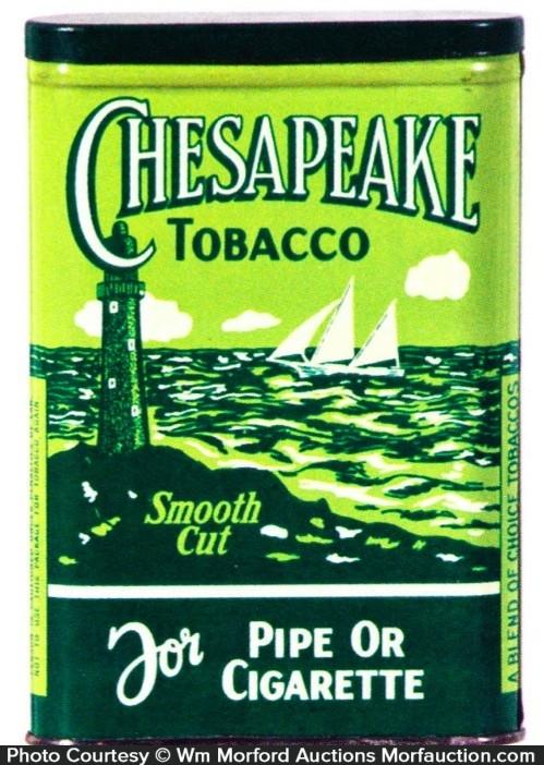 Chesapeake Tobacco Tin