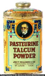 Pasteurine Talcum Powder Tin