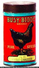 Busy Biddy Spice Tin