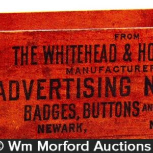 Whitehead & Hoag Novelties Box