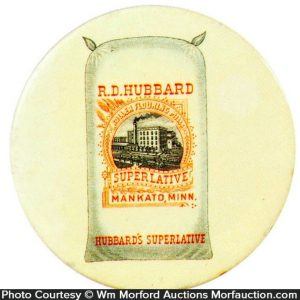 Hubbard Superlative Flour Pocket Mirror
