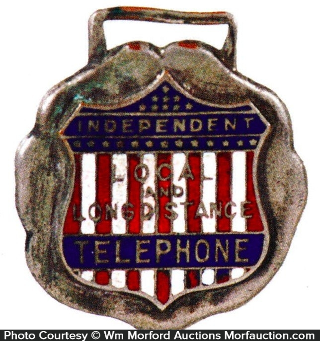 Kansas Independent Telephone Watch Fob