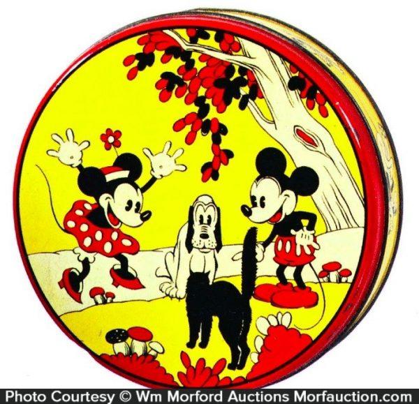 Vintage Disney Tin