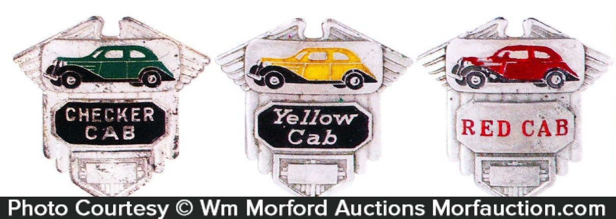 Taxi Cab Badges
