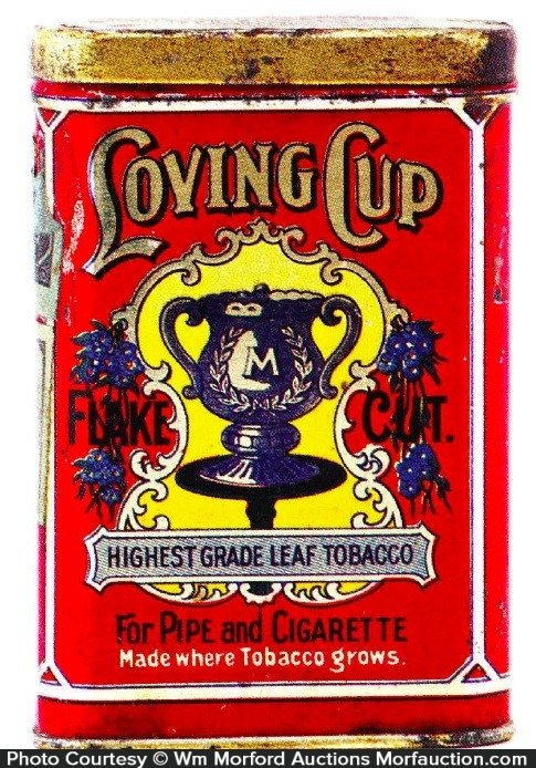 Loving Cup Tobacco Tin