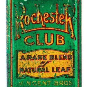 Rochester Club Tobacco Tin