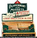 Peppermint Gum Nuggets Box