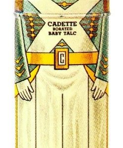 Cadette Baby Talc Tin