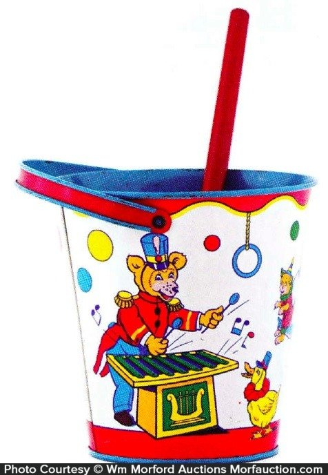 Circus Animals Sand Pail