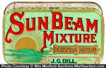 Sun Beam Tobacco Tin