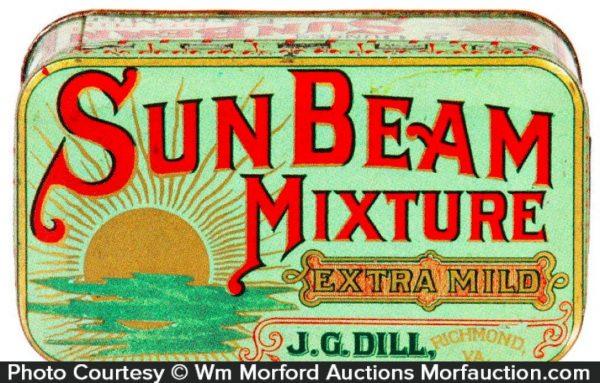Sun Beam Tobacco Tin