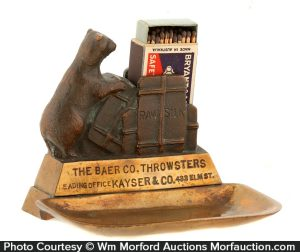 Baer Throwsters Match Holder