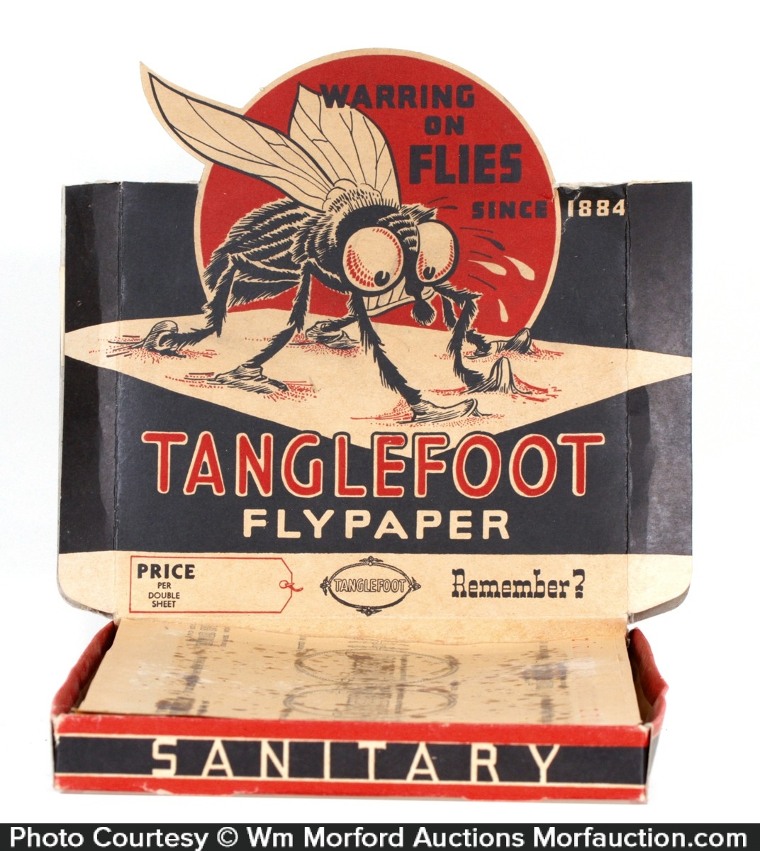 Tanglefoot Fly Paper Box