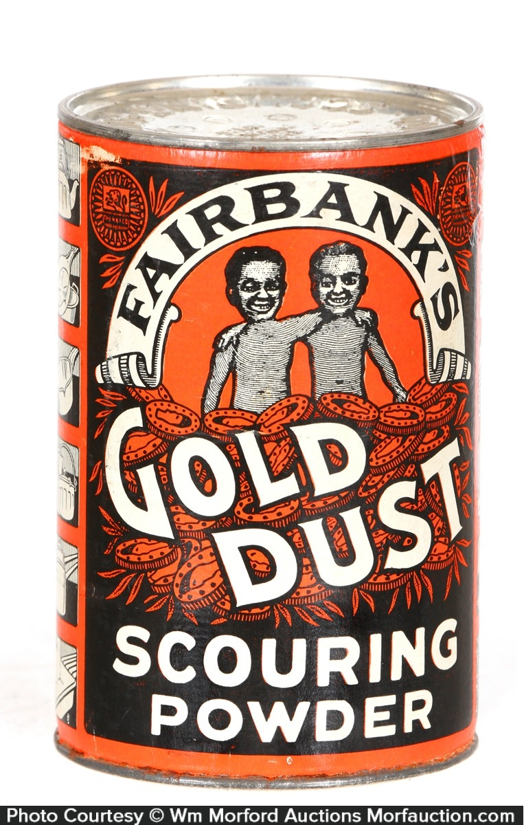 Fairbank's Gold Dust Scouring Powder Tin