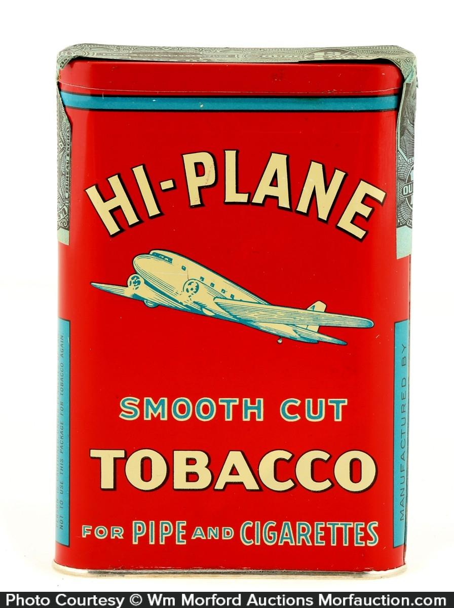 Hi-Plane Smooth Cut Tobacco Tin