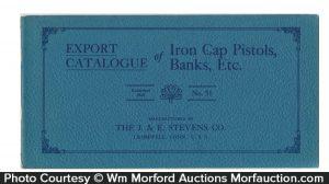 Stevens Iron Banks & Cap Guns Catalog