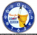 Dairy Queen Clock