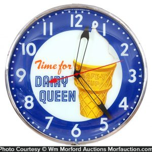 Dairy Queen Clock