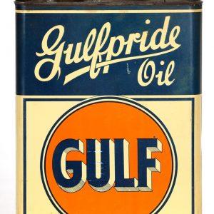 Gulfpride Oil Tin
