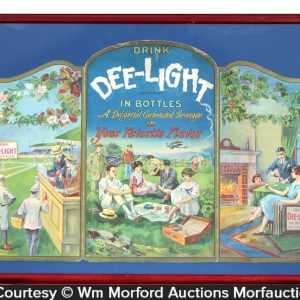 Dee-Light Soda Sign