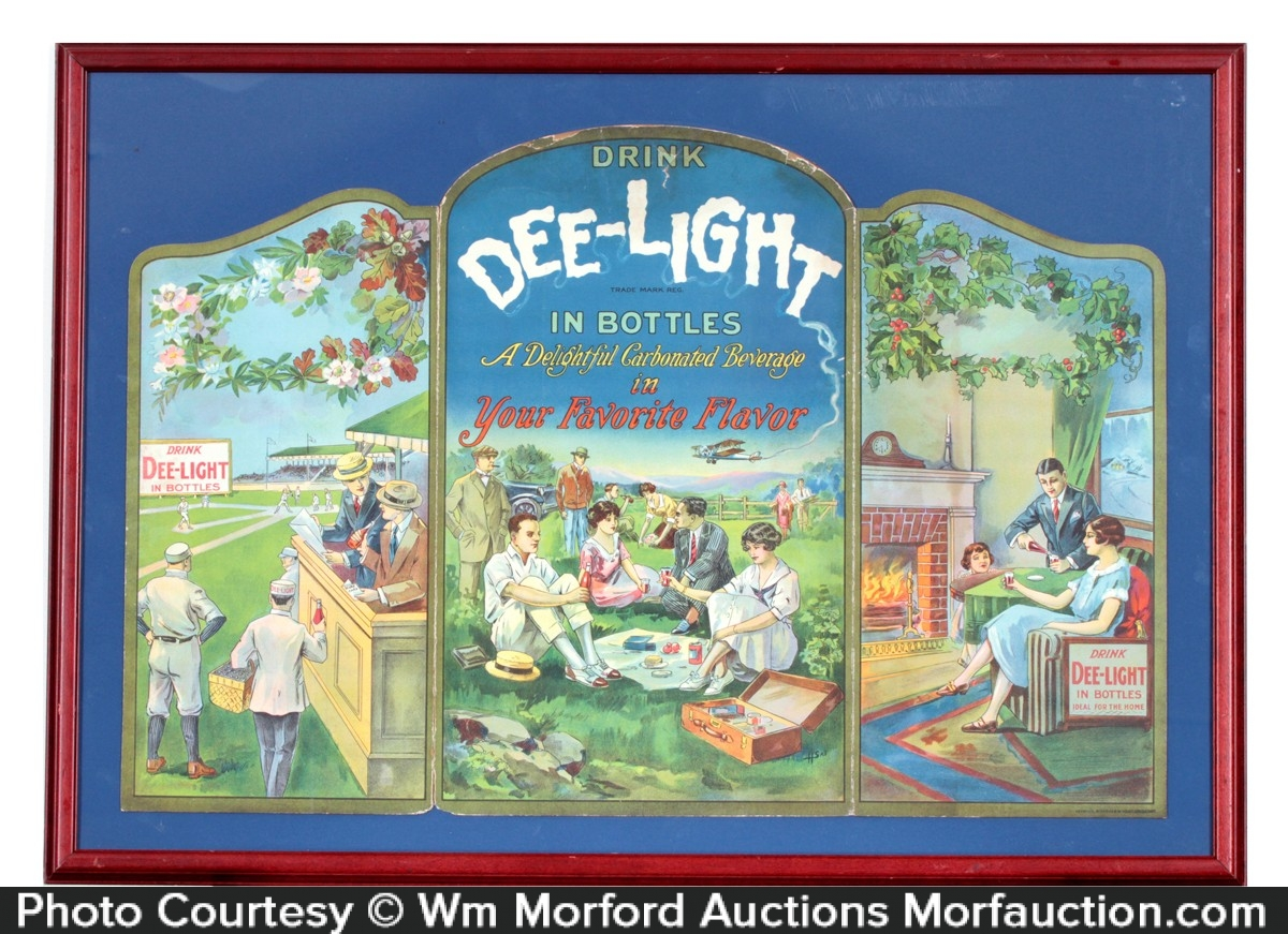 Dee-Light Soda Sign