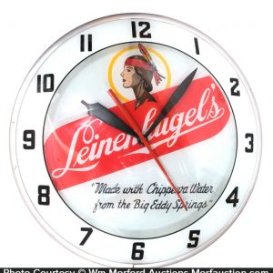 Leinenkugel Beer Clock