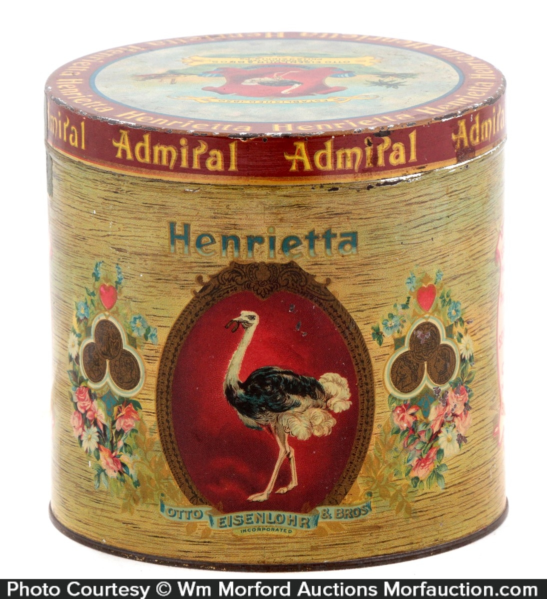 Henrietta Cigar Tin