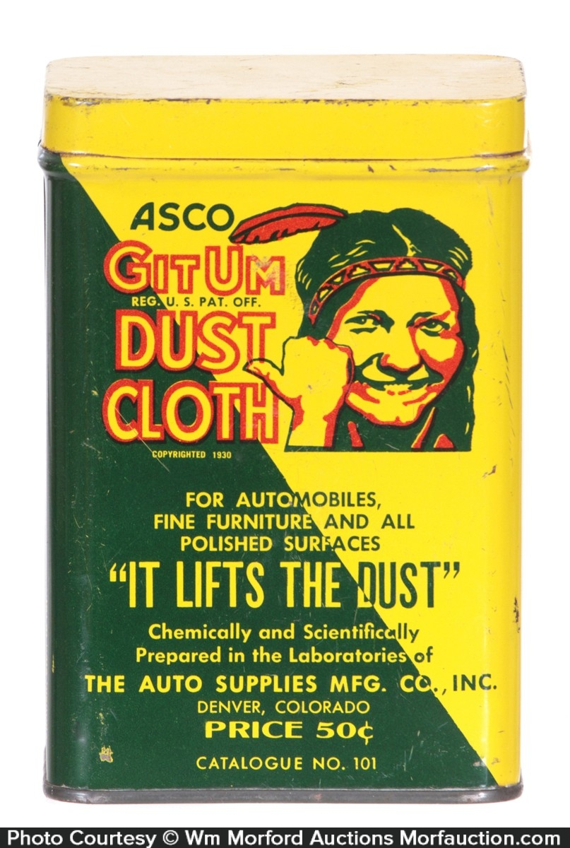 Gitum Dust Cloth Tin
