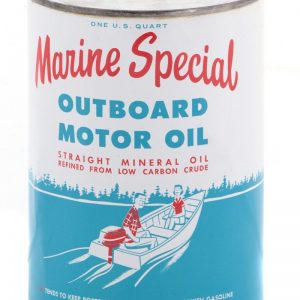 Marine Special Outboard Motor Oil Can