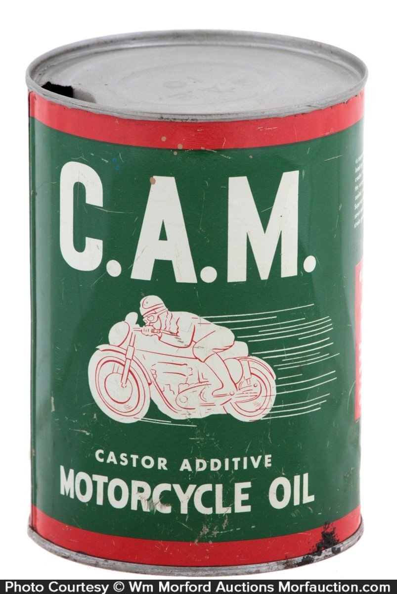 C.A.M. Motorcycle Oil Can