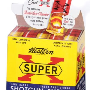 Super X Shotgun Shells Display