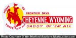 Cheyenne Wild West License Plate Topper