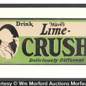Lime Crush Deliciously Different Sign