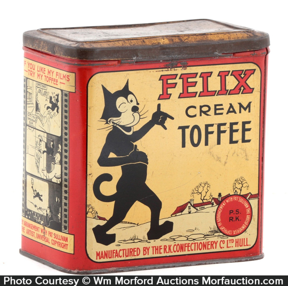 Felix Cream Toffee Tin