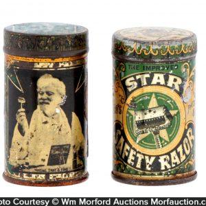 Vintage Razor Tins