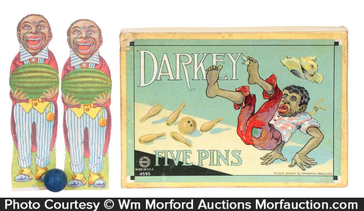 Darkey Five Pins Game