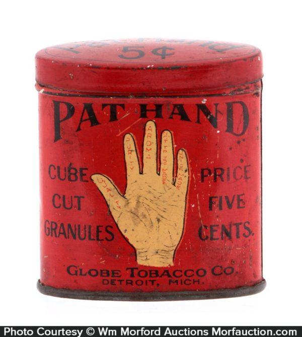 Pat Hand Tobacco Tin