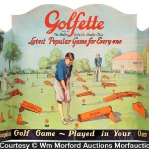 Golfette Golf Game Sign