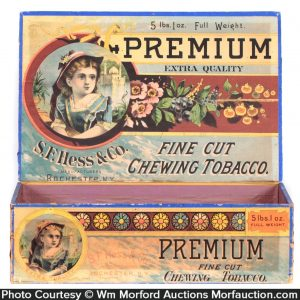 Hess Tobacco Box