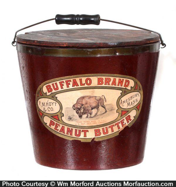 Buffalo Peanut Butter Pail